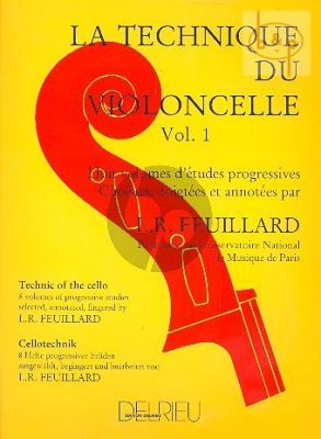 Technique du Violoncelle Vol.1