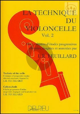 Technique du Violoncelle Vol.2