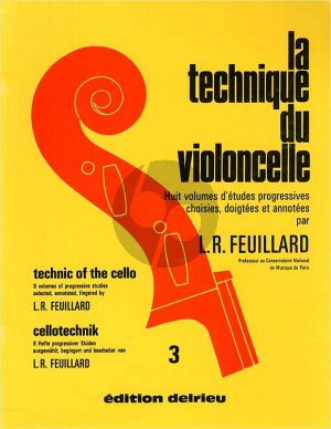Feuillard Technique du Violoncelle Vol.3