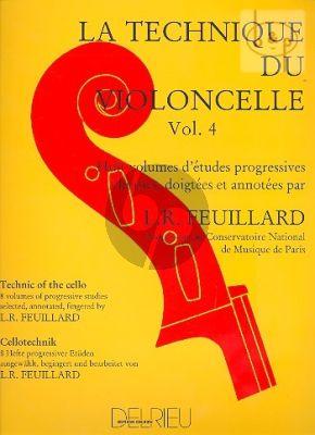 Technique du Violoncelle Vol.4