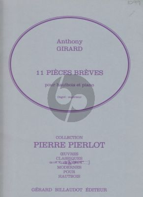 11 Pieces Breves Oboe-Piano