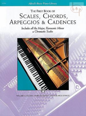 First Book Scales-Chords-Arpeggios & Cadences
