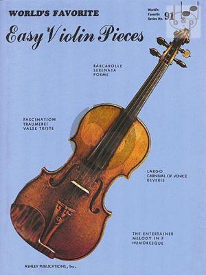 World's Favorite easy Violin Pieces