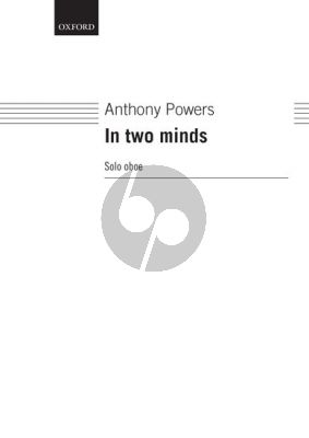 In Two Minds for Oboe solo