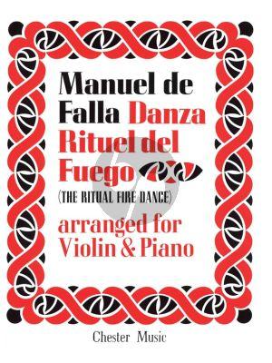 Falla Ritual Fire Dance for Violin and Piano (from El Amor Brujo)
