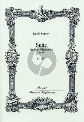 Popper Suite Op.16 2 Violoncellos
