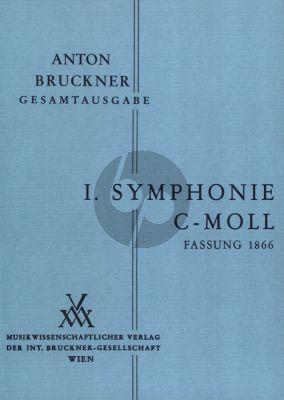 Symphonie No.1 Linzer Fassung 1866 Studienpartitur