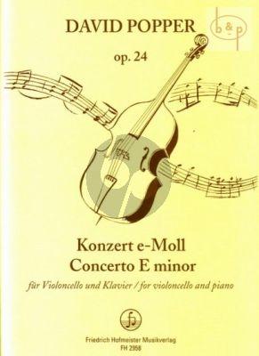 Popper Konzert No.2 Op.24 e-moll Violoncello-Klavier (Peter Bruns)