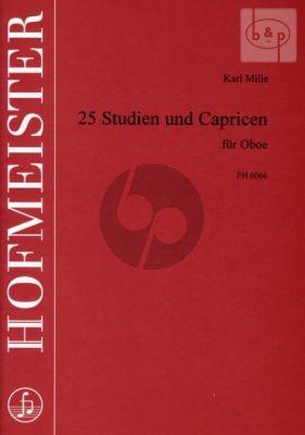 25 Studien & Capricen fur Oboe