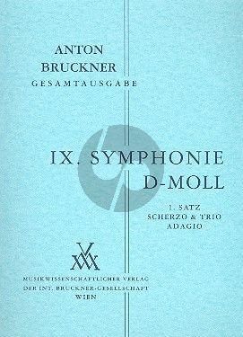 Symphonie No.9 d-moll Originalfassung von 1894 Studienpart.