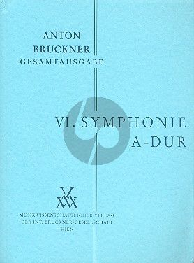 Symphonie No.6 A-dur Studienpart.