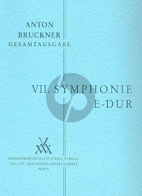 Symphonie No.7 E-dur Studienpart.