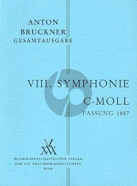 Symphonie No.8 c-moll 1.Fassung 1887 Studienpart.