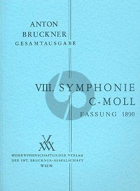 Symphonie No.8 c-moll 2.Fassung 1890 Studienpart.
