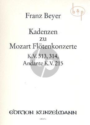 Cadenzas to Mozart's Flute Concertos KV 313 and KV 314 and Andante KV 313