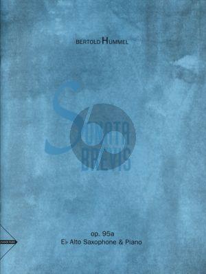 Hummel Sonata Brevis Op. 95a Alto Saxophone and Piano (Advanced)