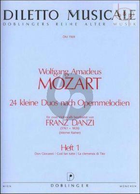 24 Kleine Duos Vol.1 (Instr. Franz Danzi)