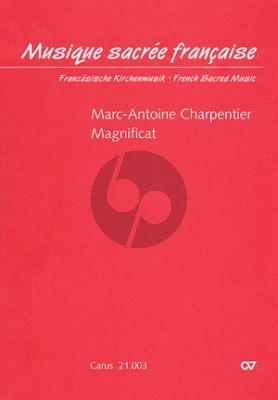 Charpentier Magnificat H.80 SATB soli-SATB chor-Bc Score