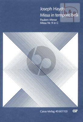 Missa in Tempore Belli (Paukenmesse) Hob.XXII:9 (SATB Soli-SATB Chor- Orch.) (Vocal Score)