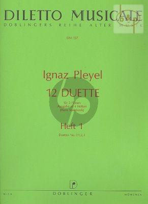 12 Duette Vol.1 (Folge I No.1 - 3)