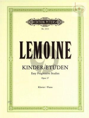 Kinder Etuden - Etudes Enfantines Op.37 Piano