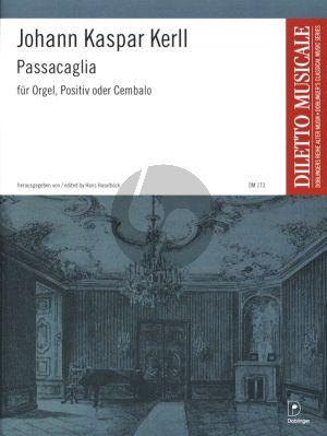 Kerll Passacaglia Orgel oder Cembalo (Hans Haselböck)