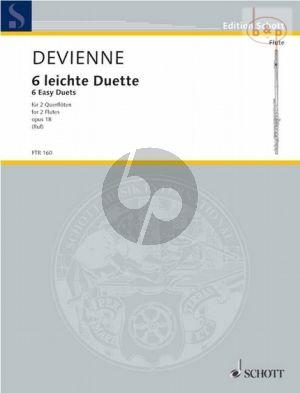 6 Leichte Duette Op.18