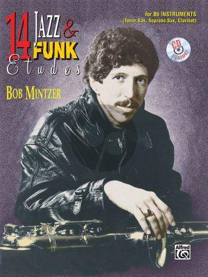 Mintzer 14 Jazz & Funk Etudes for Bb Instruments (Bk-Cd)