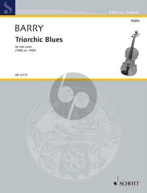 Barry Triorchic Blues Violin solo