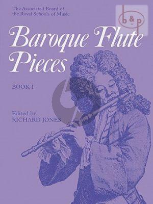 Baroque Flute Pieces Vol.1 Flute and Piano