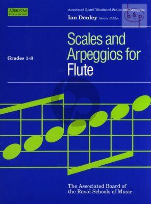 Scales & Arpeggios for Flute Grades 1 - 8