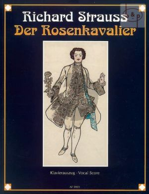 Der Rosenkavalier Op.59 Vocal Score