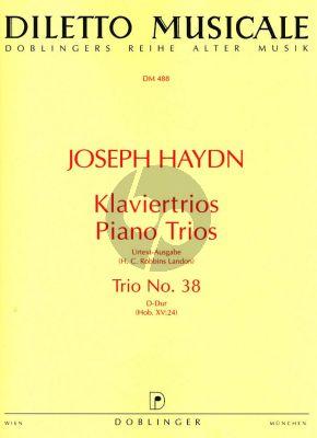 Trio D-major Hob.XV:24 Violin-Violoncello-Piano