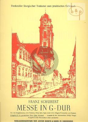 Messe G-dur (Edition A) (Mixed Choir-Orch.)