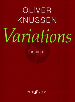 Knussen Variations Op. 24 for Piano