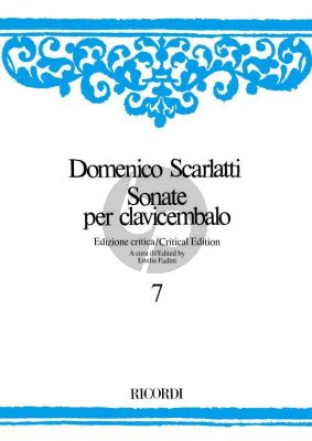 Scarlatti Sonate per Clavicembalo Vol.7