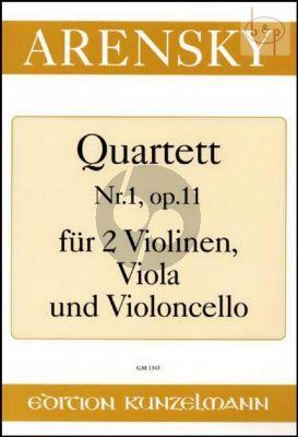 Quartett No.1 Op.11