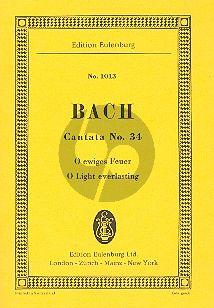 Kantate BWV 34