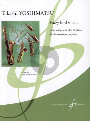 Yoshimatsu Fuzzy Bird Sonata for Altosaxophone and Piano (Advanced)
