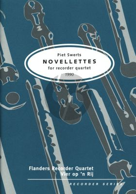 Novelettes 4 Recorders (SATB)