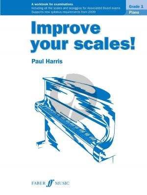 Harris Improve your Scales Piano Grade 1