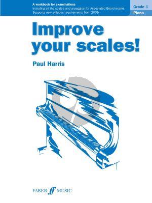 Harris Improve your Scales Piano Grade 1