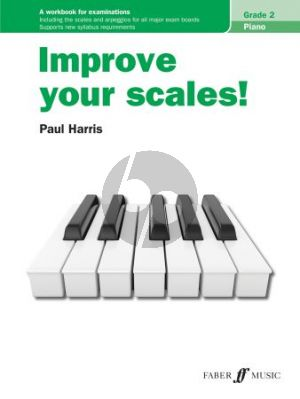 Harris Improve your Scales Piano Grade 2