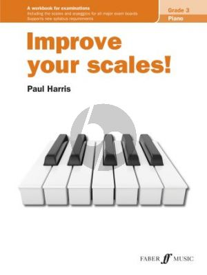 Harris Improve your Scales Grade 3 Piano