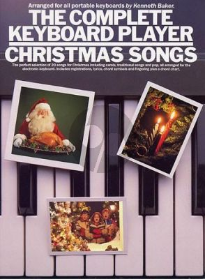 Baker Complete Keyboard Player: Christmas Songs