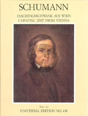 Schumann Faschungsschwank aus Wien op.26 Klavier