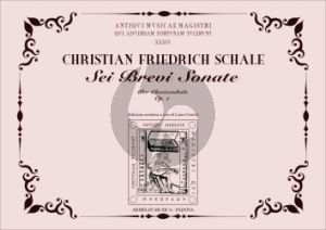 Schale 6 Brevi Sonate Op.1 Cembalo (edited by Laura Cerutti)
