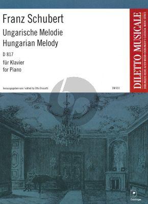 Schubert Ungarische Melodie h-moll D 817 Klavier (Otto Brusatti)