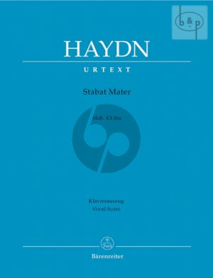 Stabat Mater Hob.XX:bis Soli-Choir-Orch. (Vocal Score)