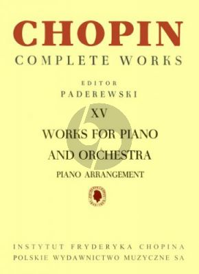 Works for Piano and Orchestra Piano edition